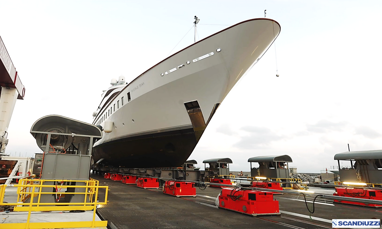 NEW SHIP-LIFT SYSTEM  (Design, Fabrication, Shipping & Erection by SCANDIUZZI)